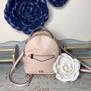 🆕Michael Kors pink rose gold backpack purse
